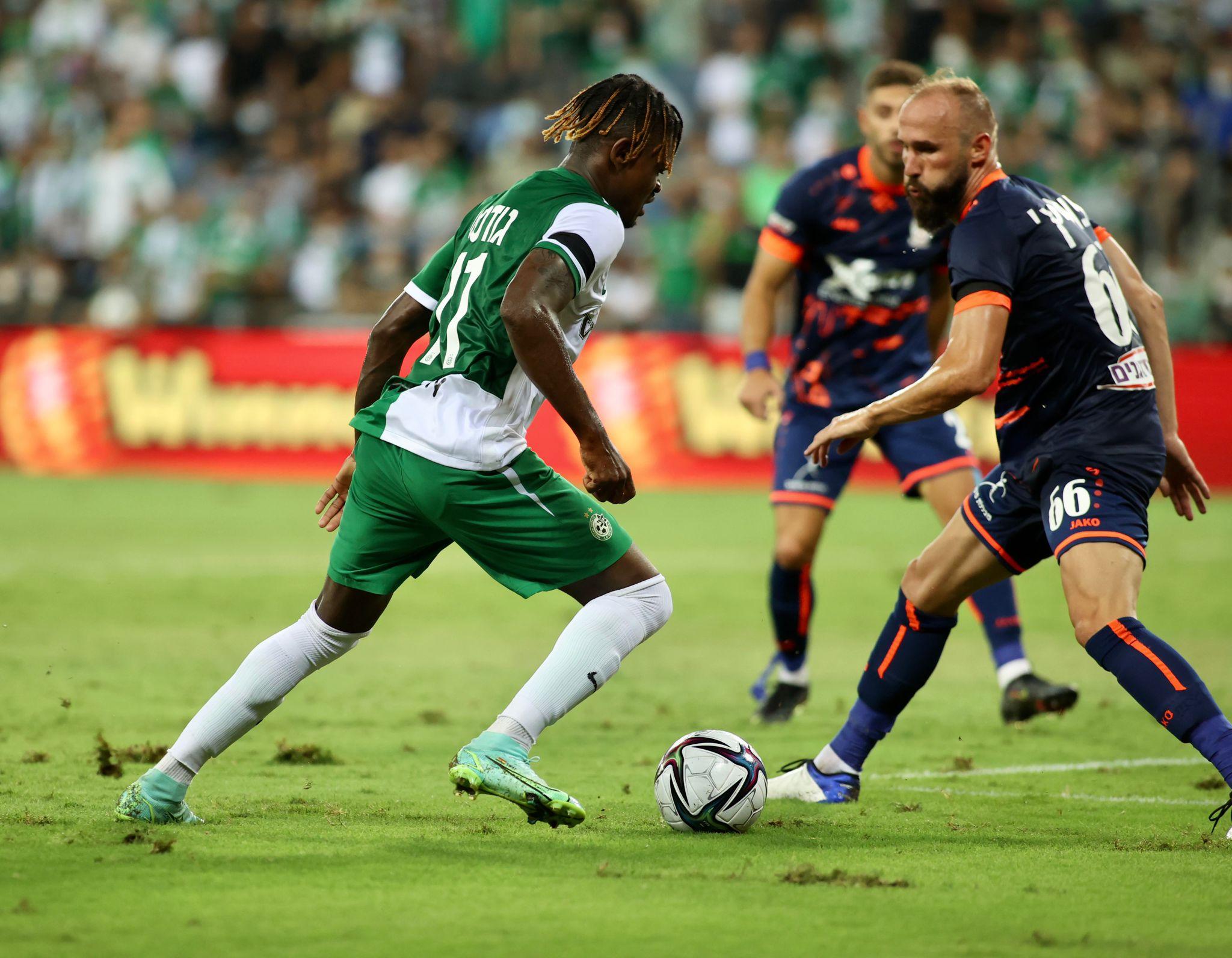 خسارة قاسية لاتحاد سخنين امام مكابي حيفا 2-1 في الدقيقة الاخيرة